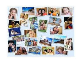 Photo-Collage Jigsaw Puzzles